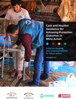 Cash and Voucher Assistance for Protection Outcomes in Mine Action Cover Image