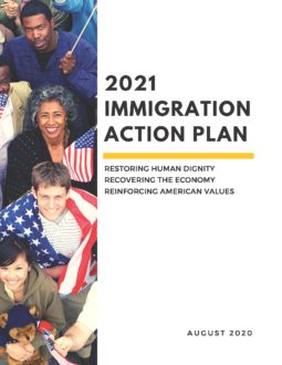 2021 Immigration Action Plan Cover Image