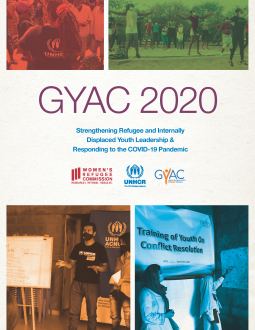 GYAC 2020 Annual Report Cover Image