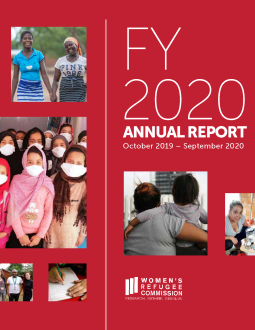 WRC 2020 Annual Report Cover Image