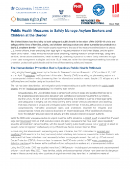 Public Health Measures at the Border