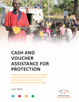 Cash and Voucher Assistance for Protection Cover Page
