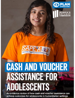 Cash and Voucher Assistance for Adolescents Cover