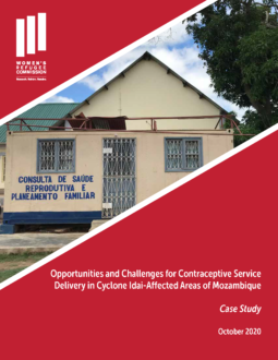 Contraceptive Service Delivery in Cyclone Idai-Affected Areas of Mozambique Cover Image